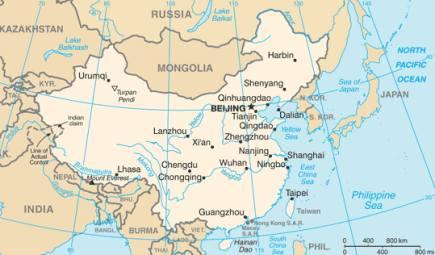 Guangzhou Ems China Map.Visit China